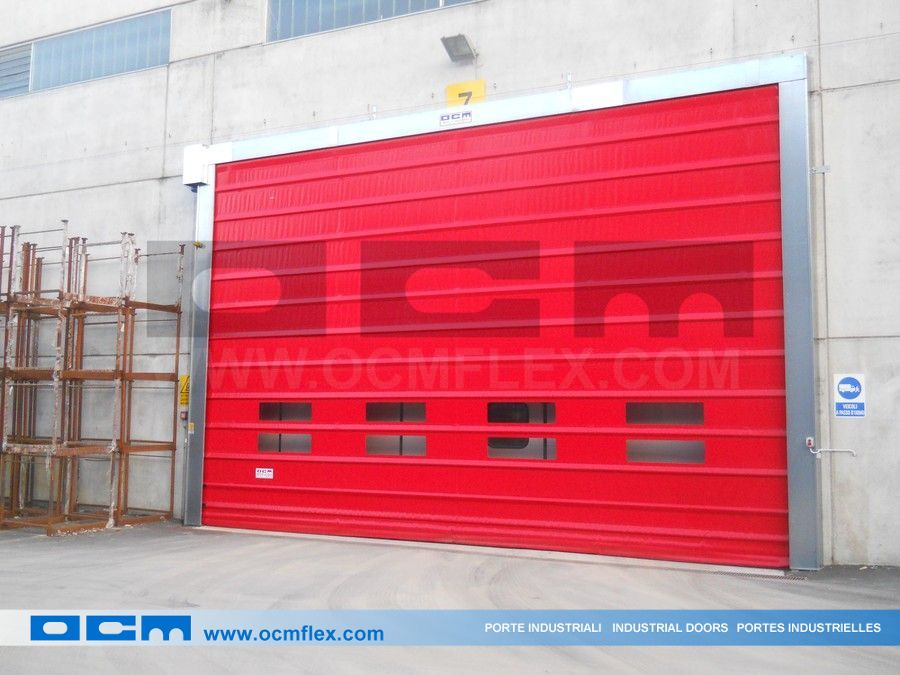 High-speed industrial automatic door