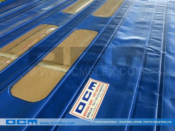 Double insulated PVC sheet