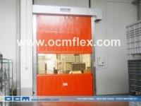 Low temperature roll-up doors